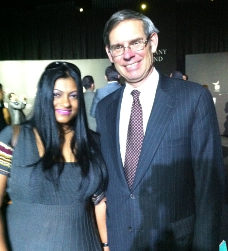 Diva with Michael J. Kowalski, Chairman and CEO of Tiffany & Co
