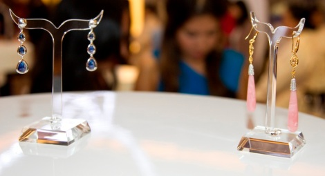Shereen Shabnam Lila earrings