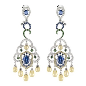 Mouawad Peacock Collection Shereen