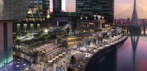 Al Maryah Island - promenade shereen