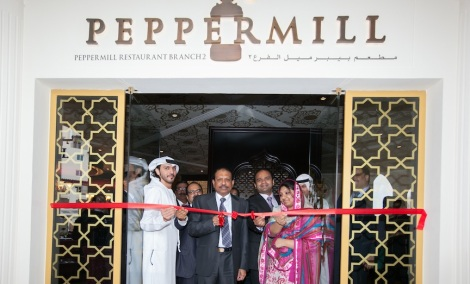 Opening of Peppermill by MA YusuffAli of EMKE Group
