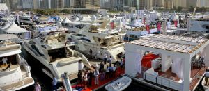 Dubai Boatshow 2014 Shereen Shabnam