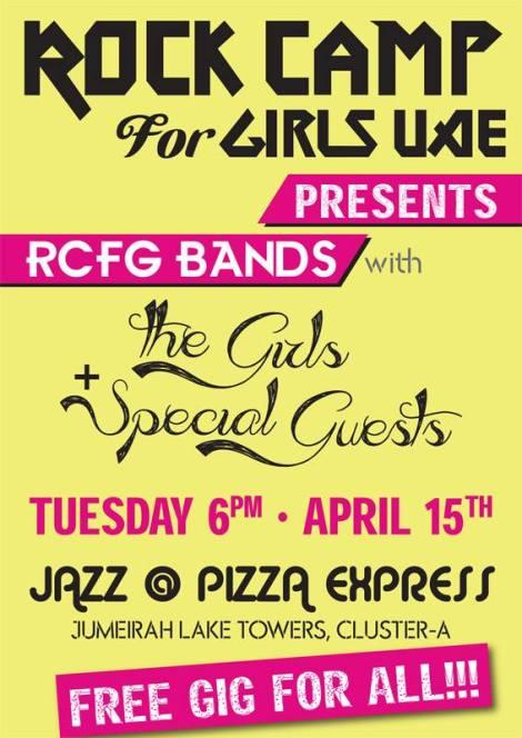 rock camp for girls Shereen