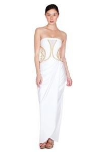 k2733-90% Polyester, 10% Spandex-white