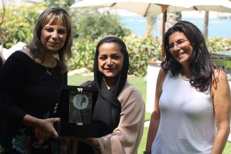 Mai Youssef, Nayla Al Khaja and Vernonica Juul-Nyholm.JPG