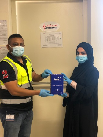 Anker Innovations Donates Masks to Dubai Ambulance